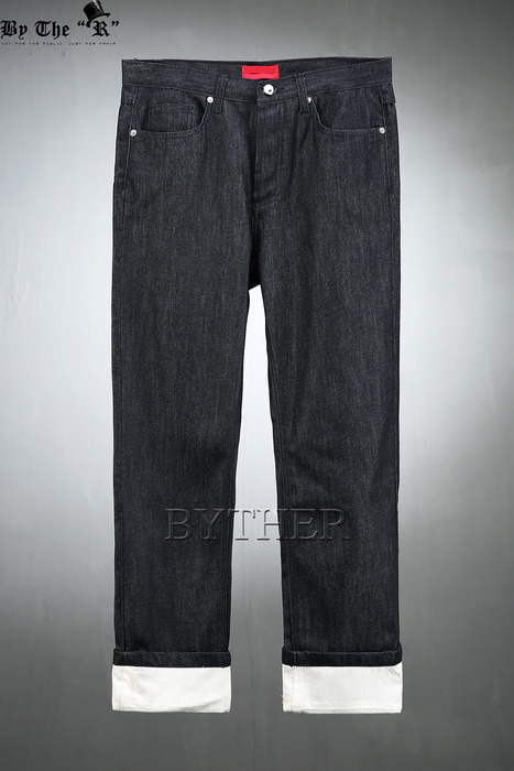 ByTheROriginal Denim Color Roll-up Jean