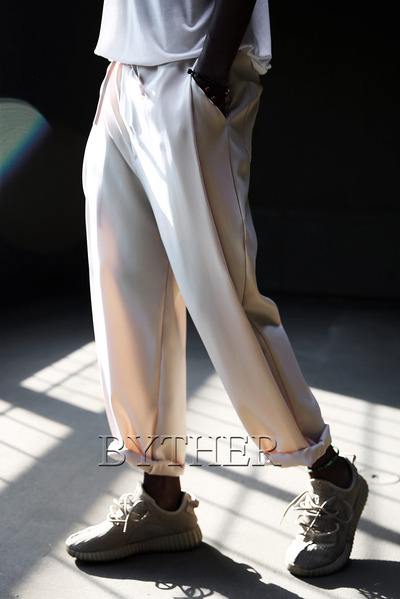 Cool Banding Wide Pants
