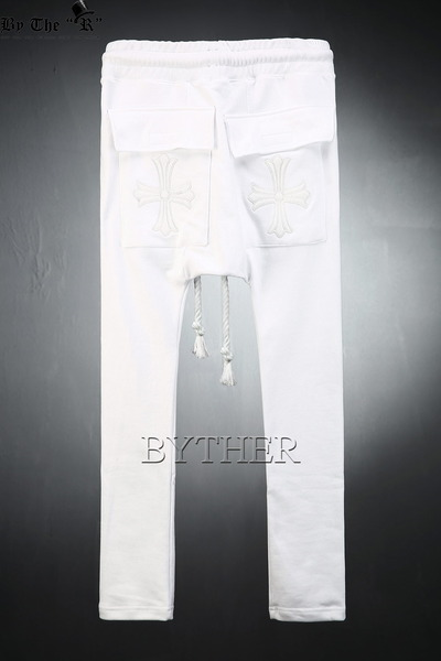 ByTheRByTheR Cross Baggy Pants