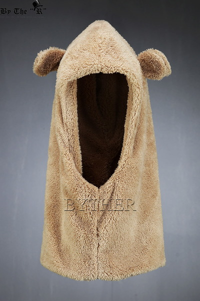 ByTheRFleece Bear Hooded Cap
